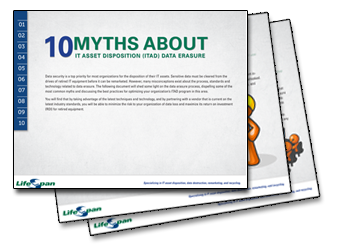 10 Myths About ITAD Data Erasure