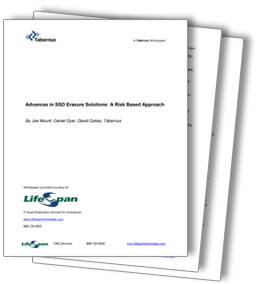 Advances in SSD Erasure Solutions: A Risk Based Approach
