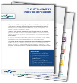 IT Asset Manager's Guide to Disposition
