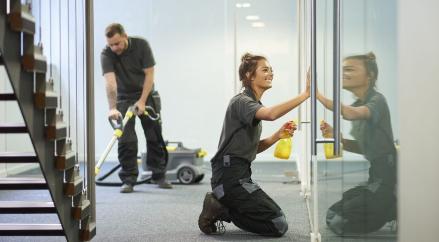 Commercial Cleaning Leader